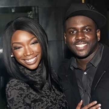DJ Poun and R&B sensation Brandy Norwood