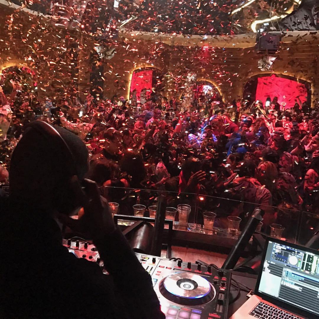 DJ Poun at New Year's Eve at Red Rock Casino, Las Vegas